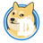 An icon of the cryptocurrency Dogecoin Cash (DCC)