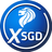 An icon of the cryptocurrency XSGD (XSGD)