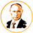 An icon of the cryptocurrency Putin coin (PUTIN)
