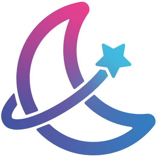 An icon of the cryptocurrency MoonStar (MOONSTAR)