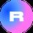 An icon of the cryptocurrency Rarible (RARI)