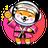 An icon of the cryptocurrency ChubbyShiba (CHSHIBA)