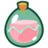 An icon of the cryptocurrency Small Love Potion (SLP)