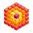 An icon of the cryptocurrency Iridium (IRD)