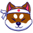 An icon of the cryptocurrency Shakita Inu (SHAK)