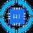 An icon of the cryptocurrency Oraichain Token (ORAI)