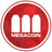 An icon of the cryptocurrency MegaCoin (MEC)