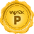 An icon of the cryptocurrency WAX (WAXP)