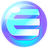 An icon of the cryptocurrency Enjin Coin (ENJ)