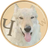 An icon of the cryptocurrency WolfDog (CSW)