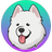 An icon of the cryptocurrency Samoyedcoin (SAMO)
