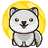 An icon of the cryptocurrency Baby Moon Wolf (BABYWOLF)