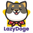 An icon of the cryptocurrency LazyDoge (LAZYDOGE)