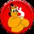 An icon of the cryptocurrency HugoTroll (Myhugo)