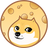 An icon of the cryptocurrency Moondoge (Modo)