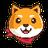 An icon of the cryptocurrency Akita Inu (AKITA)