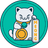 An icon of the cryptocurrency MEONG Token (MEONG)