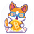 An icon of the cryptocurrency Chibi Inu (CHIBI)